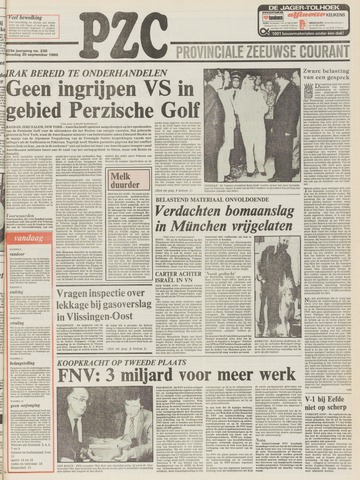 Provinciale Zeeuwse Courant 1980-09-30