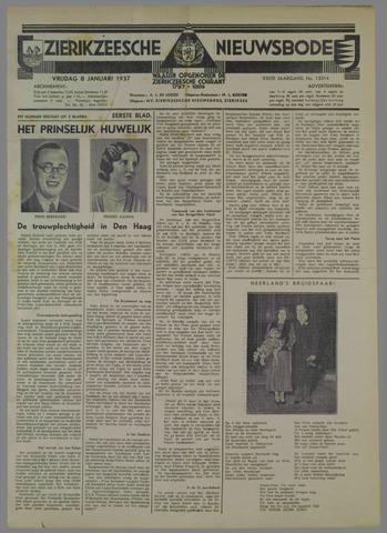 Zierikzeesche Nieuwsbode 1937-01-08