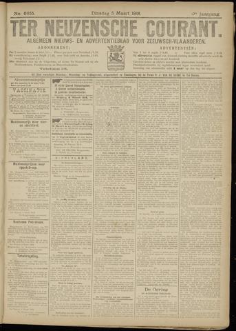 Ter Neuzensche Courant. Algemeen Nieuws- en Advertentieblad voor Zeeuwsch-Vlaanderen / Neuzensche Courant ... (idem) / (Algemeen) nieuws en advertentieblad voor Zeeuwsch-Vlaanderen 1918-03-05