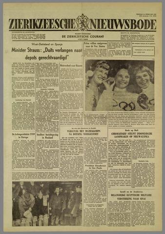 Zierikzeesche Nieuwsbode 1960-02-26