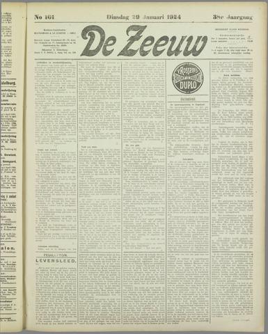 De Zeeuw. Christelijk-historisch nieuwsblad voor Zeeland 1924-01-29