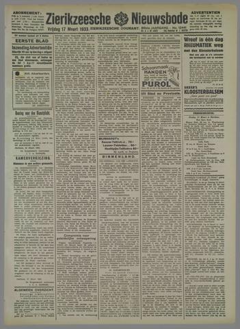 Zierikzeesche Nieuwsbode 1933-03-17