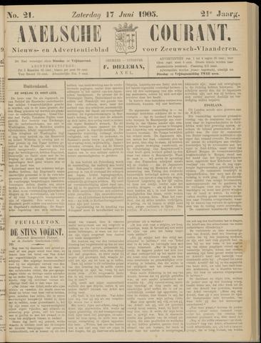 Axelsche Courant 1905-06-17