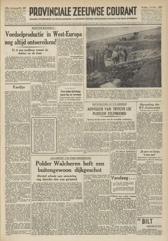 Provinciale Zeeuwse Courant 1952-11-14