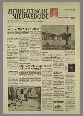 Zierikzeesche Nieuwsbode 1974-10-25