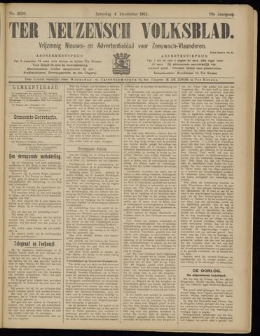 Ter Neuzensch Volksblad. Vrijzinnig nieuws- en advertentieblad voor Zeeuwsch- Vlaanderen / Zeeuwsch Nieuwsblad. Nieuws- en advertentieblad voor Zeeland 1915-12-04