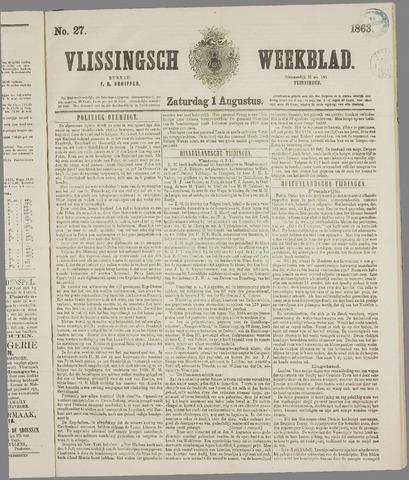 Vlissings Weekblad 1863-08-01