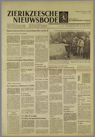 Zierikzeesche Nieuwsbode 1962-11-13