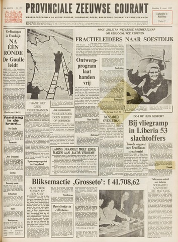 Provinciale Zeeuwse Courant 1967-03-06