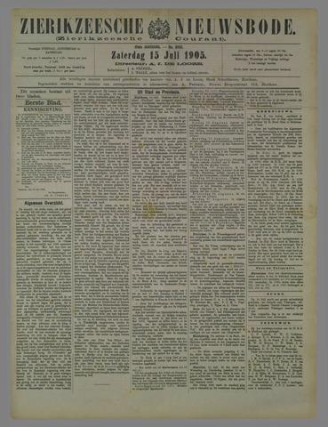 Zierikzeesche Nieuwsbode 1905-07-15