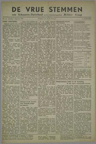 Vrije Stemmen van Schouwen-Duiveland, tevens mededeelingenblad Militair Gezag 1945-08-07