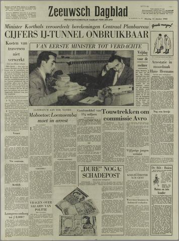 Zeeuwsch Dagblad 1960-10-11
