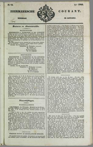 Zierikzeesche Courant 1844-01-30