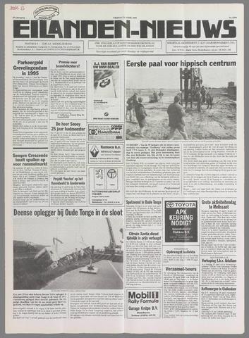 Eilanden-nieuws. Christelijk streekblad op gereformeerde grondslag 1995-04-21