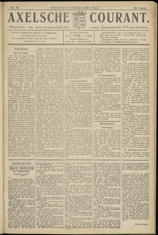 Axelsche Courant 1935-02-05