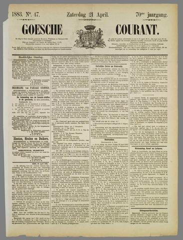 Goessche Courant 1883-04-21