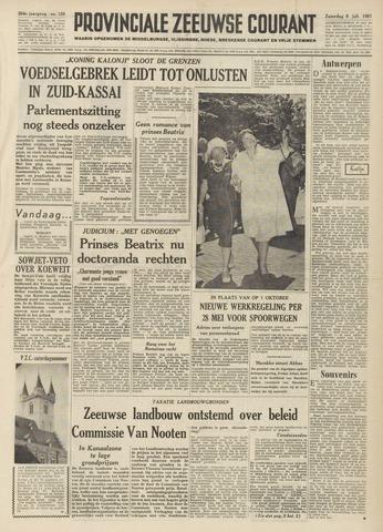 Provinciale Zeeuwse Courant 1961-07-08