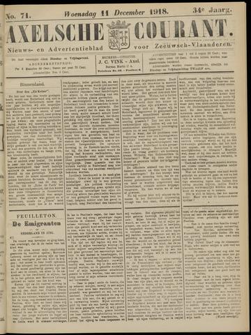 Axelsche Courant 1918-12-11