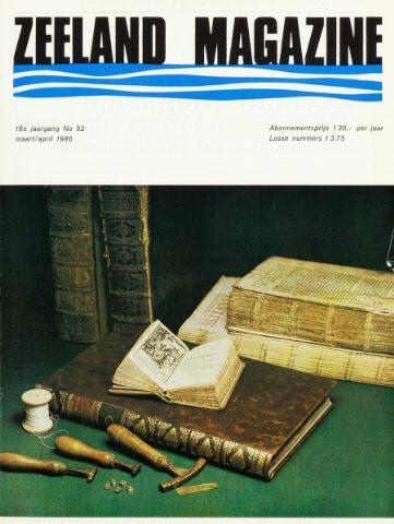 Zeeland Magazine / Veerse Meer Gids 1986-03-01