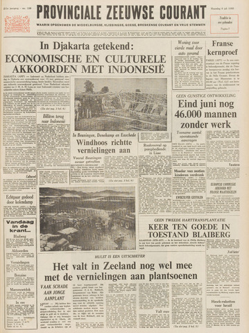 Provinciale Zeeuwse Courant 1968-07-08