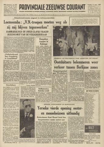 Provinciale Zeeuwse Courant 1960-09-09