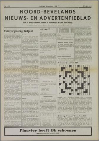 Noord-Bevelands Nieuws- en advertentieblad 1970-09-22