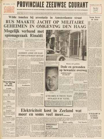 Provinciale Zeeuwse Courant 1967-04-13