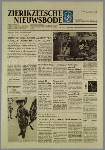 Zierikzeesche Nieuwsbode 1972-11-21