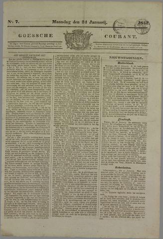 Goessche Courant 1842-01-24