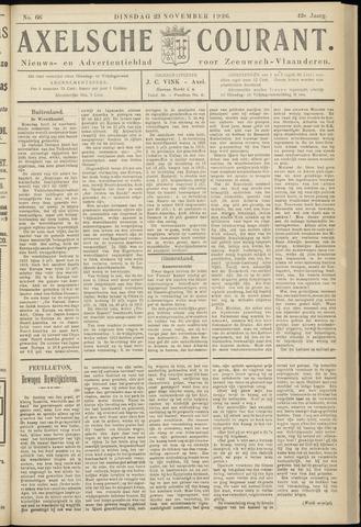 Axelsche Courant 1926-11-23