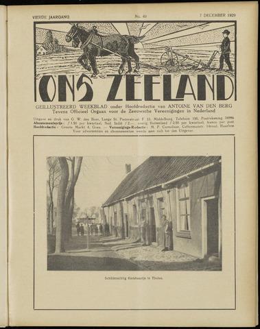 Ons Zeeland / Zeeuwsche editie 1929-12-07