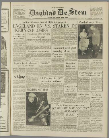 de Stem 1958-08-23