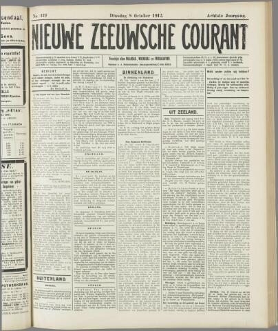 Nieuwe Zeeuwsche Courant 1912-10-08