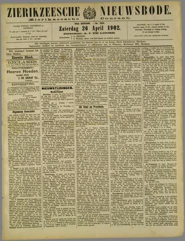 Zierikzeesche Nieuwsbode 1902-04-26