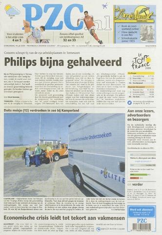 Provinciale Zeeuwse Courant 2009-07-16