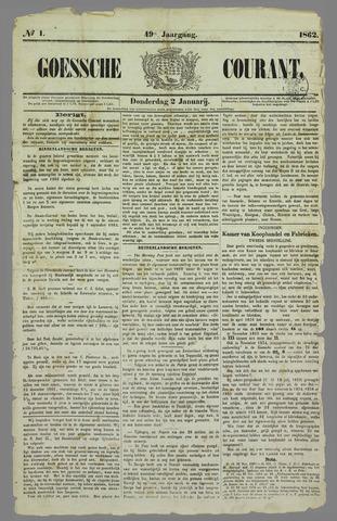 Goessche Courant 1862