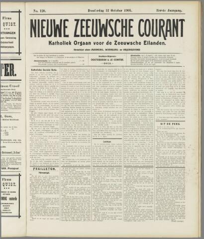 Nieuwe Zeeuwsche Courant 1905-10-12