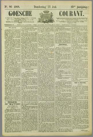 Goessche Courant 1908-07-23