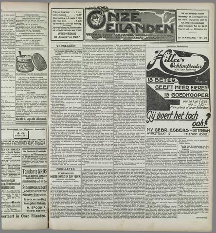 Onze Eilanden 1927-08-10