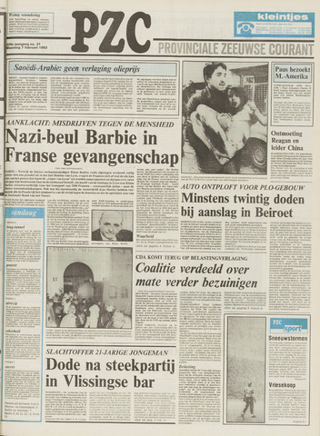 Provinciale Zeeuwse Courant 1983-02-07