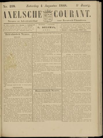 Axelsche Courant 1888-08-04