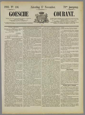 Goessche Courant 1883-11-17