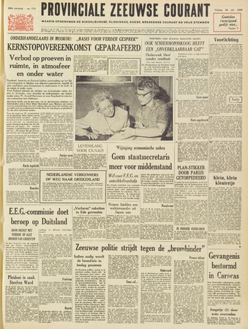 Provinciale Zeeuwse Courant 1963-07-26