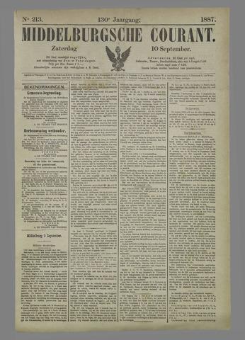 Middelburgsche Courant 1887-09-10