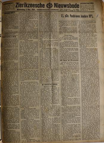 Zierikzeesche Nieuwsbode 1921-11-02