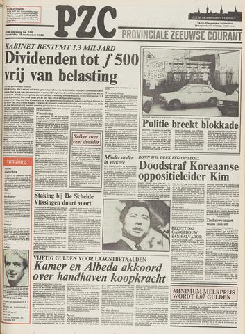 Provinciale Zeeuwse Courant 1980-09-18