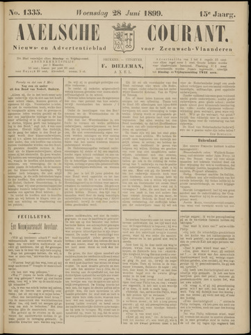 Axelsche Courant 1899-06-28