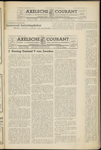 Axelsche Courant 1950-11-01