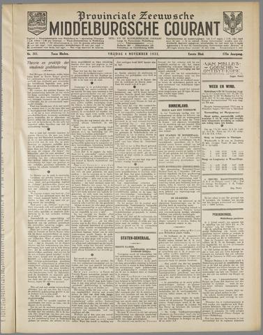 Middelburgsche Courant 1932-11-04