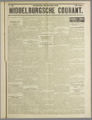 Middelburgsche Courant 1925-10-22